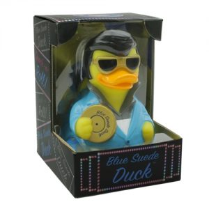 Blue Suede Duck