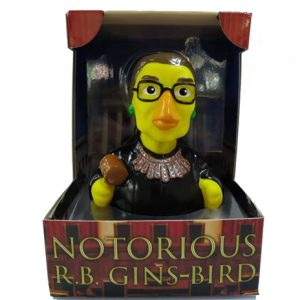 "Notorious RB Gins-Bird aka ""Dissent Duck"""