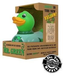 Recycled Green Duck